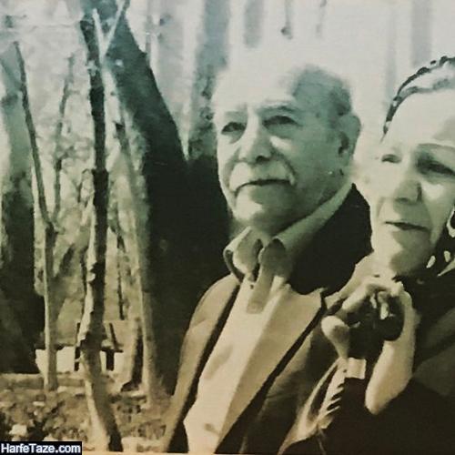عکس پدر و مادر اصغر توسلی