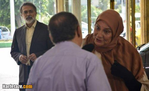 اسامی بازیگران سریال چادر گلدار