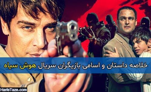 خلاصه داستان و اسامی بازیگران سریال هوش سیاه