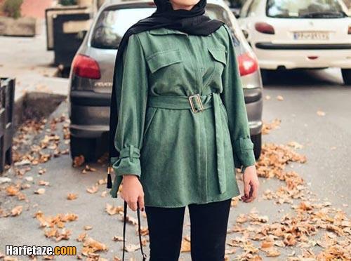 مدل پالتو پاییزه زنانه 99