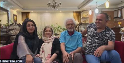 عکس خانواده بهنوش بختیاری همسر محمد رضا آریان