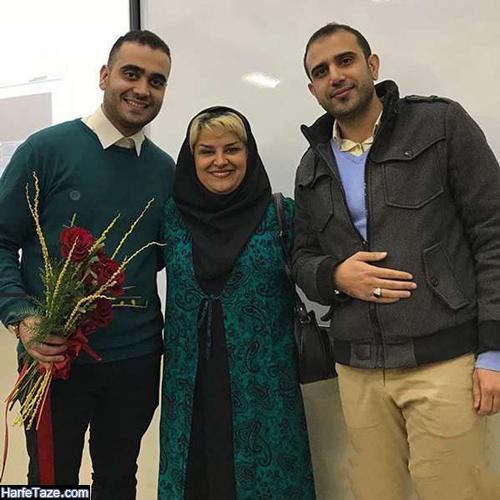 عکس و بیوگرافی حسام و حسین پسران شوکت حجت دوبلور