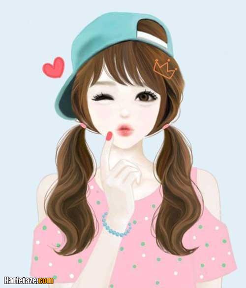 عکس دختر کارتونی برای پروفایل