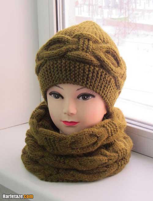 مدل های جدید شال گردنی و کلاه زنانه ۲۰۲۱