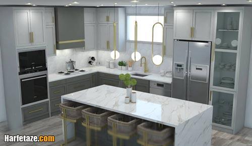 راهنمای طراحی دکوراسیون آشپزخانه مدرن