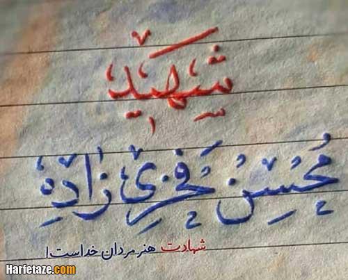 عکس شهید محسن فخری زاده برای تلگرام و واتساپ