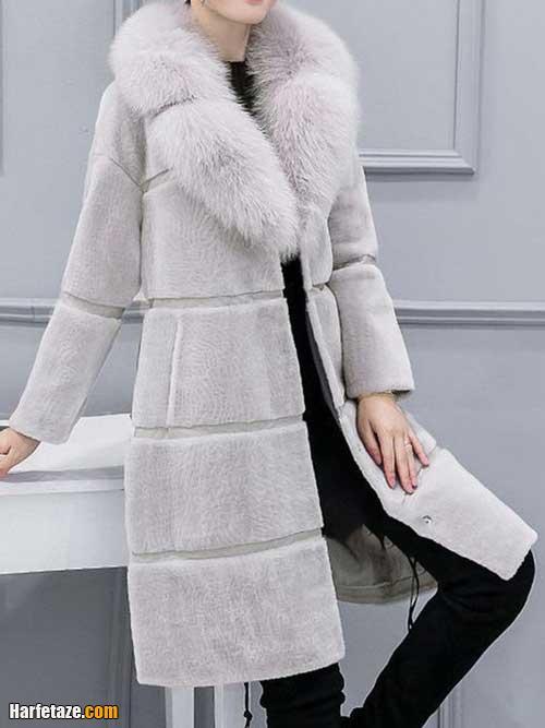 مدل جدید پالتو زنانه زمستانی ضخیم و بسیار گرم