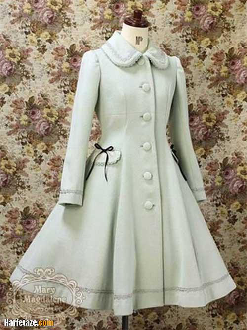 عکسی از مدلهای پالتوی دخترانه عروسکی