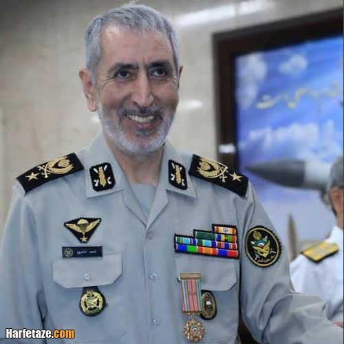 زندگینامه امیر سرتیپ احمد دادبین فرمانده سابق ارتش جمهوری اسلامی