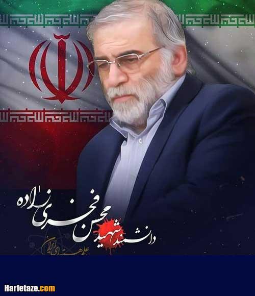 عکس پروفایل شهید محسن فخری زاده دانشمند هسته ای