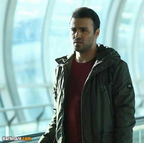 بیوگرافی و اینستاگرام سامان صفاری بازیگر نقش پیام در سریال خانه امن