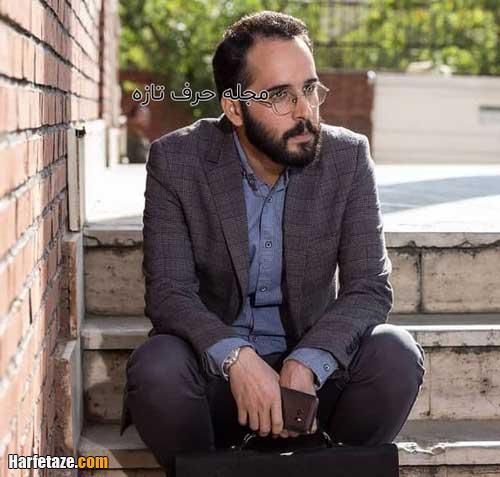 بیوگرافی محمد زکی زاده بازیگر نقش ظفر در سریال از سرنوشت 3