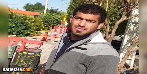 فیلم دستفروشی محسن مدهنی قهرمان کشتی فرنگی جهان