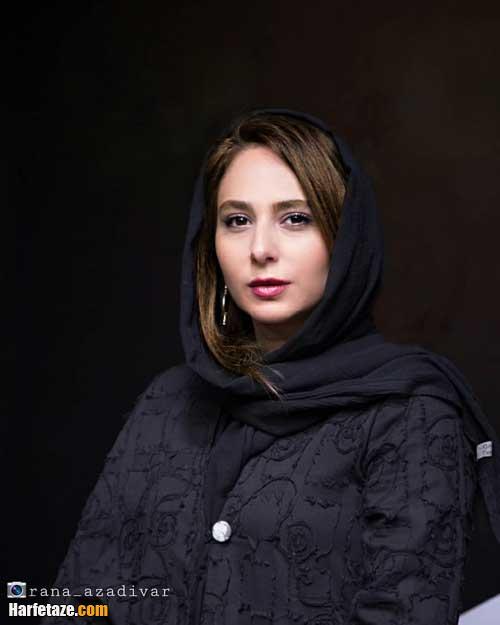 عکس های ازدواج و دو نفره مهدی پاکدل و همسرش ازدواج رعنا آزادی ور
