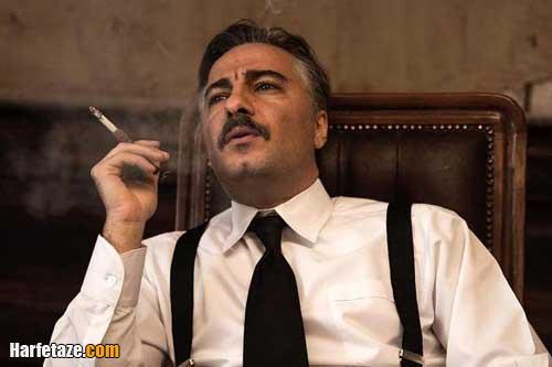 نوید محمدزاده در فیلم سرخپوست