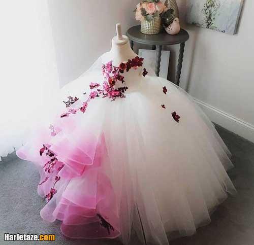 قیمت لباس عروس بچه گانه 1400