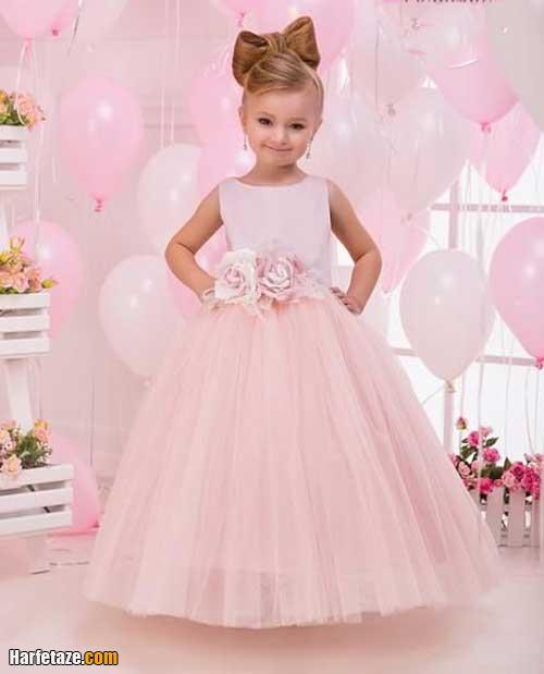 آلبوم زیبا از لباس عروس بچه گانه دخترانه از ۱ سال تا ۱۰ سال