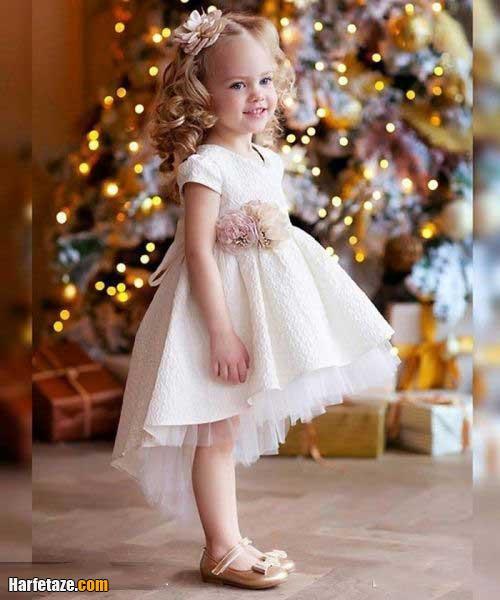 عکس هایی از لباس عروس بچه گانه 2021