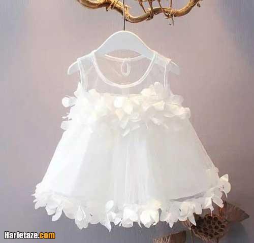 مدل لباس عروس بچه گانه نوزادی