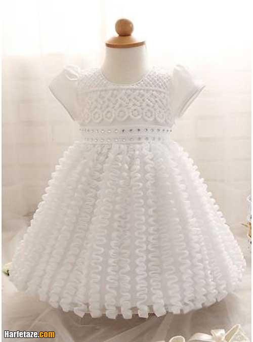 عکس لباس عروس بچه گانه خارجی