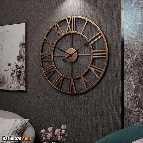 انواع جدیدترین مدل های ساعت دیواری ویژه 2021