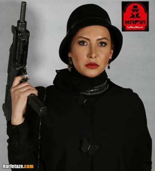 فریبا نادری در مجموعه شب های مافیا