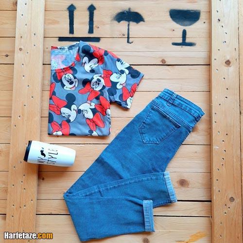 جدیدترین انواع مدل های شلوار جین زنانه2021