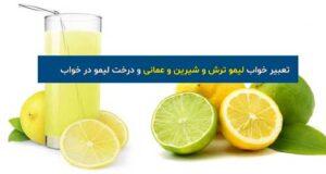 تعبیر دیدن لیمو ترش و لیمو شیرین و عمانی در خواب