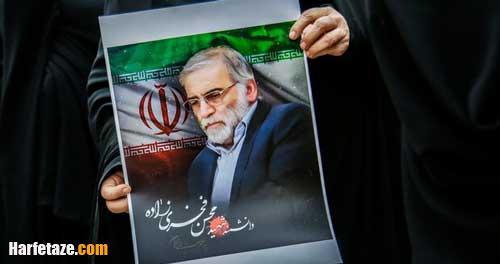 عکس و فیلم مراسم تدفین و مزار شهید فخری زاده در امامزاده صالح تهران
