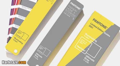رنگ سال 2021 زرد گرم و خاکستری و لیمویی انتخاب شد