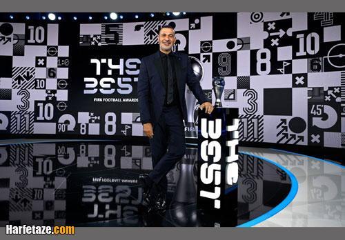 جوایز و اسامی برندگان مراسم بهترین های فیفا 2020 (بهترین بازیکن 2020) +تصاویر