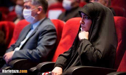 بیوگرافی فاطمه سلیمانی فرزند شهید حاج قاسم سلیمانی و همسرش + زندگینامه