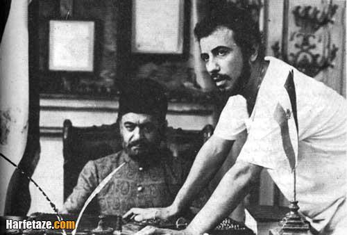 علی حاتمی کارگردان فیلم حاجی واشنگتن