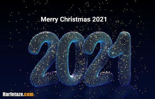 پیام و متن تبریک کریسمس 2021 با عکس نوشته زیبا +عکس پروفایل