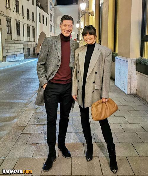 همسر روبرت لواندوفسکی فوتبالیست کیست