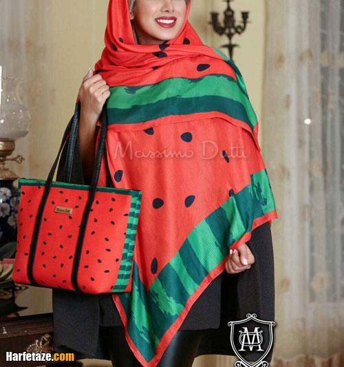 مدل جدید روسری یلدایی