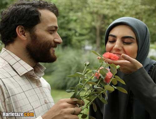 عکس مهشید جوادی و میلاد میرزایی در سریال بیگانه ای با من است