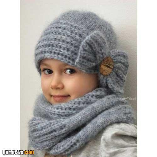 کلاه نوزادی دخترانه شیک