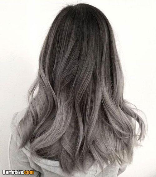 نحوه ترکیب رنگ موی دودی زیتونی