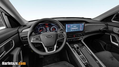 امکانات و مشخصات فنی خودروی شاسی بلند جک k7