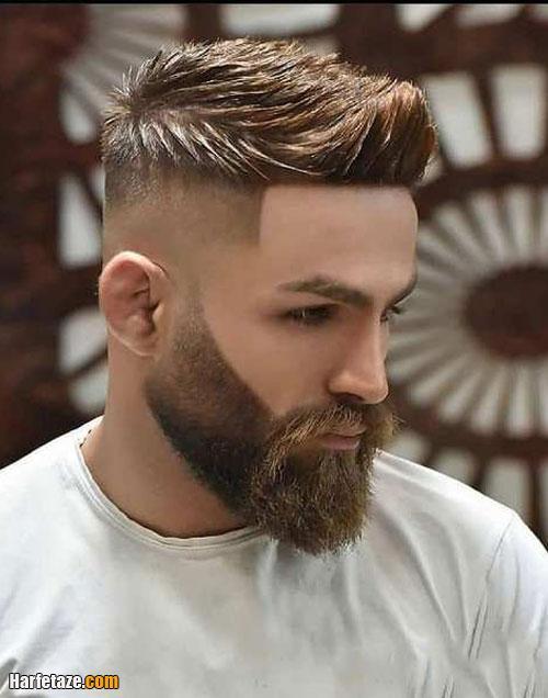 موی حلقه ای (کوفی) برای آقایان