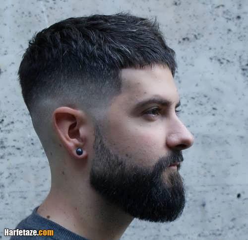 کوتاهی موی سزار ویژه مردان