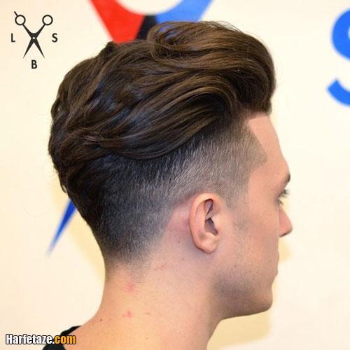 موی پوش داده شده (پف کرده)