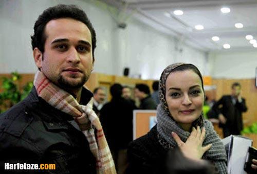 علی تقوا زاده و همسرش