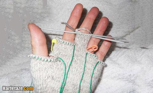 نحوه محاسبه تعداد دانه های انگشتان دستکش