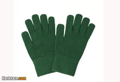 طرز بافت دستکش 5 انگشتی برای بچه ها و بزرگترها
