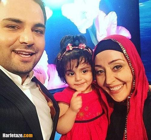 آرزو افشار و دخترش پارمیدا در ماه عسل علیخانی