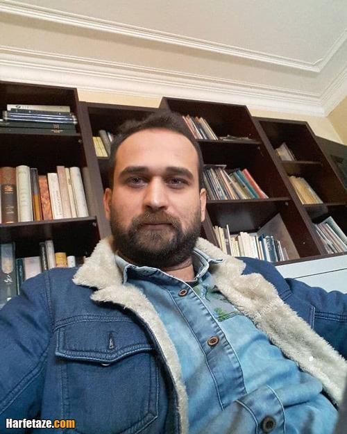 عکس های جنجالی علی تقوازاده بازیگر نقش سینا در سریال آوای باران