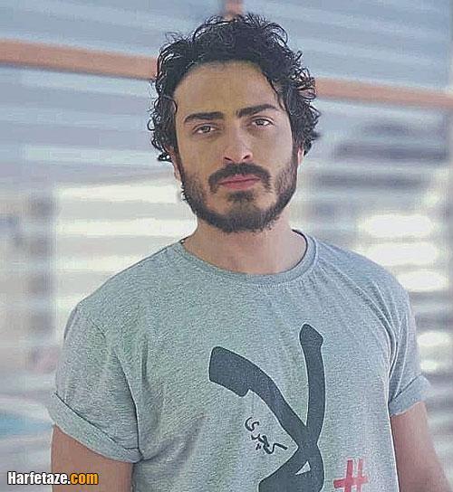 محمدامین شعرباف بازیگر نقش سروش در سریال قورباغه کیست