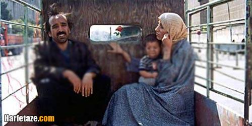 اسماعیل سلطانیان و همسرش